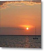 Fannie Bay Sunset 1.4 Metal Print