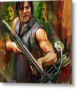 Daryl Dixon Walker Killer Metal Print