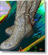 Das Boots Metal Print