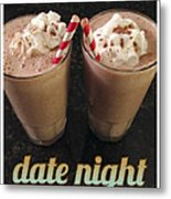 Date Night Metal Print