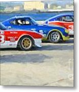 Datsun Z Racers At Sebring Metal Print