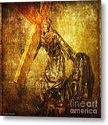 Daughters Of Jerusalem Via Dolorosa 8 Metal Print by Lianne Schneider