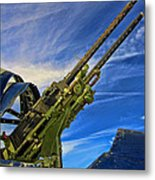 Dauntless Tail Gun Metal Print