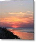 Dauphin Island Sunset Metal Print