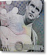 Dave Matthews All The Colors Mix Together Metal Print