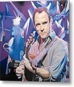 Dave Matthews And 2007 Lights Metal Print