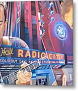 Dave Matthews And Tim Reynolds At Radio City Metal Print