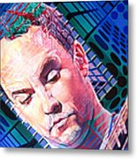 Dave Matthews Open Up My Head Metal Print