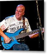 Dave Pegg Bass Player For Fairport Convention And Jethro Tull Metal Print