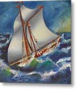 Daves' Ship Metal Print