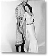 David And Bathsheba, From Left, Gregory Metal Print