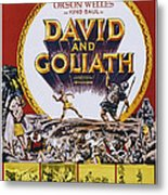 David And Goliath, Aka David E Golia Metal Print