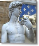 David At Palazzo Metal Print