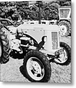 david brown 25D classic tractor during vintage tractor rally at glenarm castle open day county antrim northern ireland Metal Print