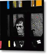 David Carradine Jail Young Billy Young Old Tucson Sound Stage Tucson Arizona 1968 Metal Print