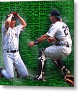 David Cone Yankees Perfect Game 1999 Zoom Metal Print