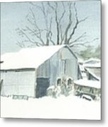 David Hoyles Shed Metal Print
