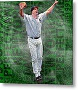 David Wells Yankees Perfect Game 1998 Metal Print