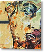 David Who Metal Print by Water Lily