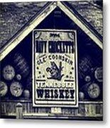 Davy Crocketts Tennessee Whiskey Metal Print
