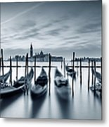 Dawn In Venice Metal Print