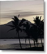 Dawn In Nadi Metal Print