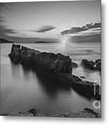 Dawn Of A New Day Bw Metal Print