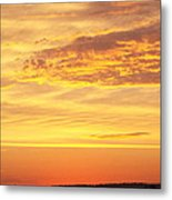 Dawn On Diamond Lake Metal Print