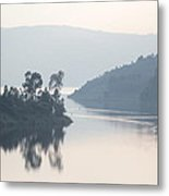 Dawn On Lake Victoria Metal Print