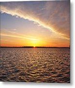 Dawn On The Chesapeak - St Michael's Maryland Metal Print