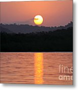 Dawn Over Darien Metal Print