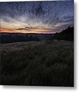 Dawn Over The Hills Metal Print