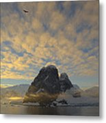 Dawn Over The Lemaire Metal Print