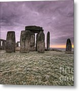 Dawn Over The Stones  Metal Print