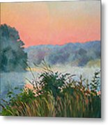 Dawn Reflection Metal Print