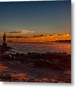 Dawn Rises Metal Print