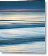 Dawn Seascape Abstract Metal Print