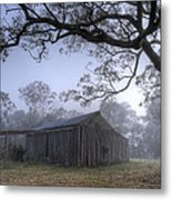 Dawn Shack Metal Print by Steve Caldwell
