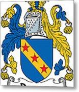 Dawson Coat Of Arms Londonderry Ireland Metal Print