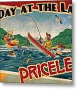 Day At The Lake Metal Print