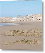 Day At The Moroccan Fishing Village Metal Print