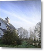 Day Break At The Farm Metal Print by Alana Ranney