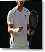 Day Eleven The Championships - Metal Print