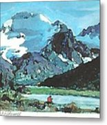 Day In The Wilderness Metal Print