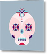 Day Of The Dead Poster Metal Print