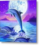 Day Of The Dolphin Metal Print