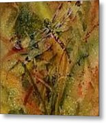 Day Of The Dragonfly Metal Print