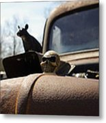 Day Of The Rat Metal Print
