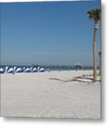 Day On The Beach Metal Print