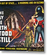 Day The Earth Stood Still Metal Print